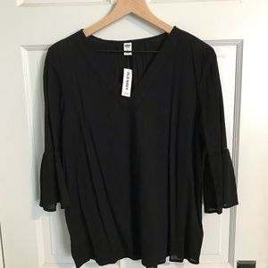 NWT Old Navy bell sleeve top